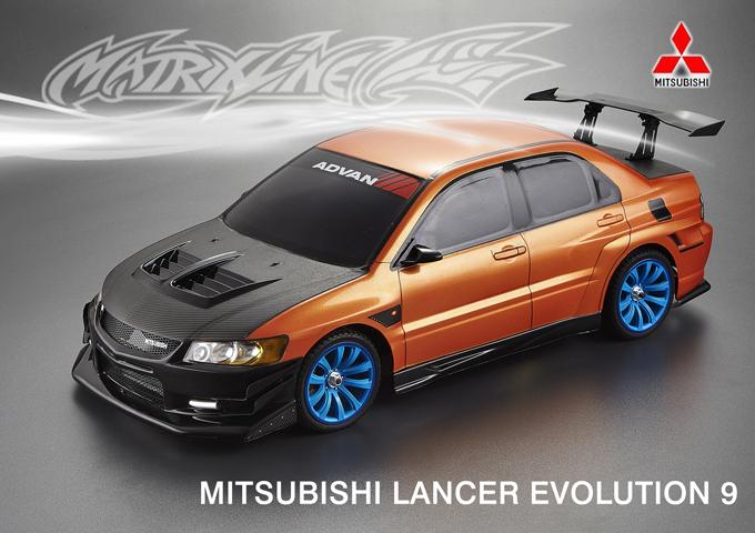 Matrixline Bodykit für Mitsubishi Evo 9