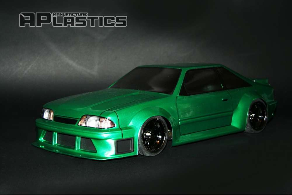 Fox Body Mustang Parts >> Ford Mustang Foxbody Rc Bodies And Parts