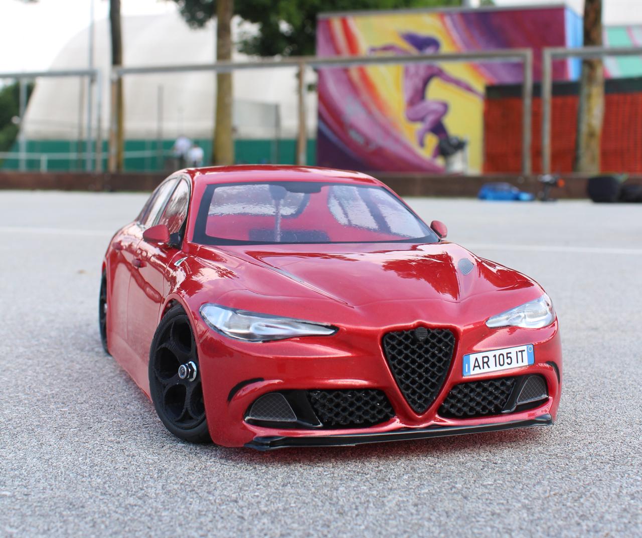 3DM Alfa Romeo Giulia 2018